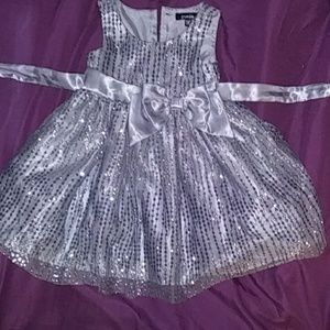 Zunie Girl toddler formal party dress size 2T